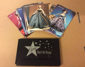 Gene Doll First Edition Collector card set from 1998