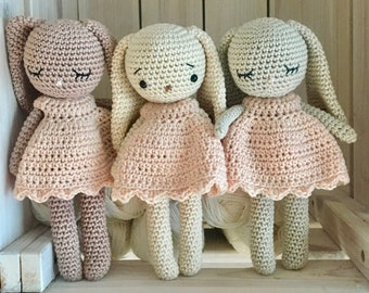 Soft Crochet Toys Dolls And Plushies Made With Door Unepelotedelaine