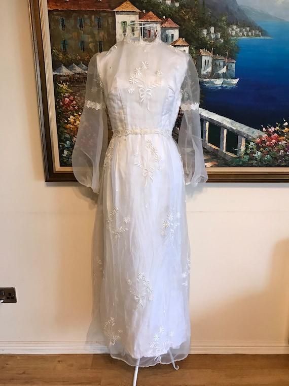 Vintage dress vintage wedding dress boho wedding 7