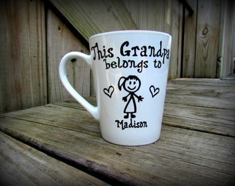 Fathers Day, Fathers Day Mug, Fathers Day Gift, Gifts for Dad, Gifts for Grandpa, Gifts for him, Fathers Mug, Dad Mug, Personalized Dad Mug
