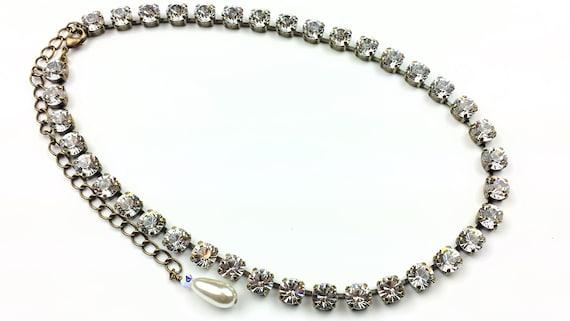 Swarovski Crystal Rhinestone Necklace Wedding Rhinestone  e70d8357b