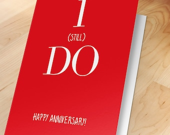 Anniversary card, Love message, Romantic card, Greeting, Cute, Marriage Vows, Silly, Cheeky, Lovers, Wife, Husband, Girlfriend, Boyfriend