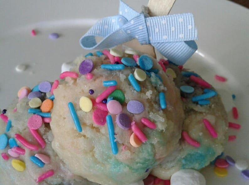 Edible Unicorn Birthday Cake Cookie Dough 6 Oz