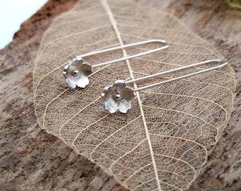 Cherry Blossom earrings - Handmade in 925 Sterling silver