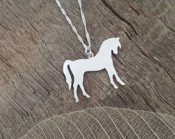 Beautiful Handmade Horse pendant/necklace in sterling silver