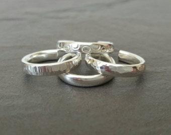 Handmade 925 Sterling silver Toe ring (one) - beach, rings, toe rings - various styles
