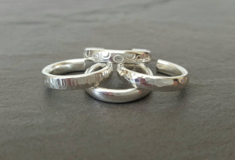 Toe ring one  various styles  Handmade 925 Sterling silver image 0