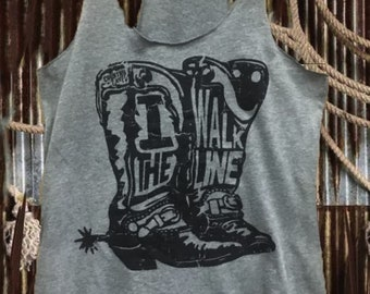 102212bef19d4 I Walk The Line Country Deep tank top