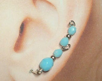 Climbing Earrings - Single Long Loop Style