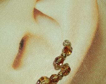 Climbing Earrings - Zig-Zag Style Custom Made