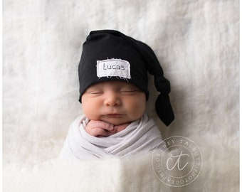 Black baby hat  13d4b6a63c9c