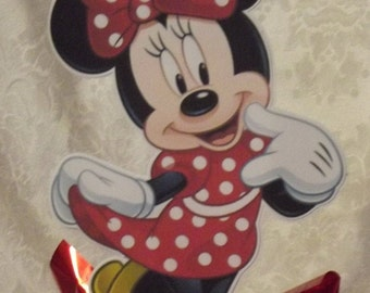 Minnie Mouse on stick