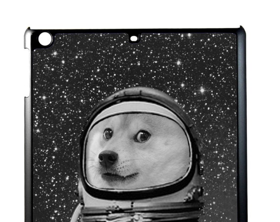 iPad Case Cute Astronaut Doge For iPad 2/3/4, iPad Mini 1/2 and iPad Air