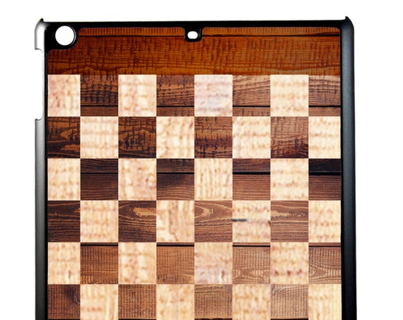 Classic Wooden Chessboard iPad CaseFor iPad 2/3/4, iPad Mini 1/2 and iPad Air