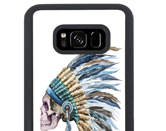 Tribal Indian Hipster For Samsung Galaxy S9 Plus, S9, S8 Plus, S8, S7 Edge, S7, S6 Edge Plus, S6 Edge, S6, S5, S4, S3 Phone Case