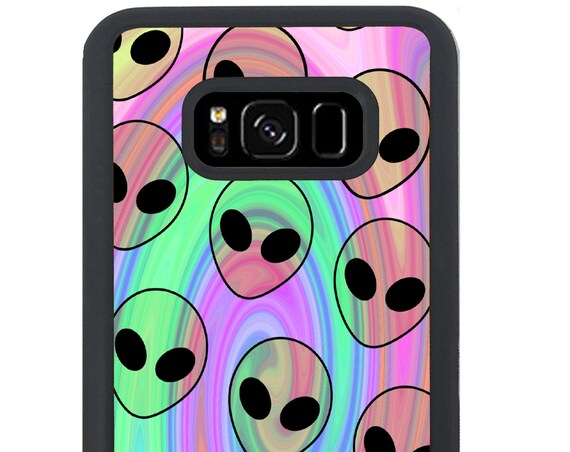 Psychedelic Alien Pattern For Samsung Galaxy S9 Plus, S9, S8 Plus, S8, S7 Edge, S7, S6 Edge Plus, S6 Edge, S6, S5, S4, S3 Phone Case