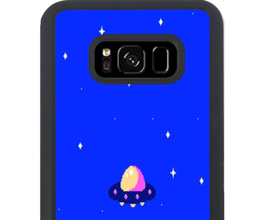 Believe or Run Alien Video Game For Samsung Galaxy S9 Plus, S9, S8 Plus, S8, S7 Edge, S7, S6 Edge Plus, S6 Edge, S6, S5, S4, S3 Phone Case