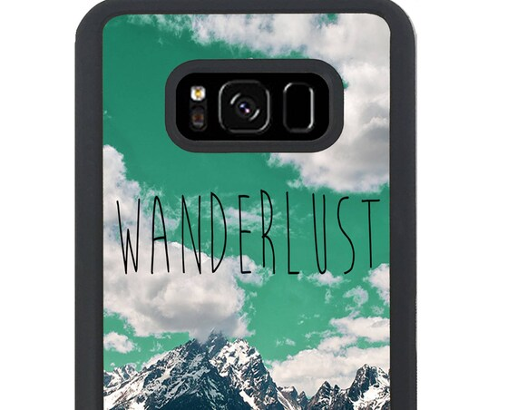 Travel Mountain Wanderlust For Samsung Galaxy S9 Plus, S9, S8 Plus, S8, S7 Edge, S7, S6 Edge Plus, S6 Edge, S6, S5, S4, S3 Phone Case