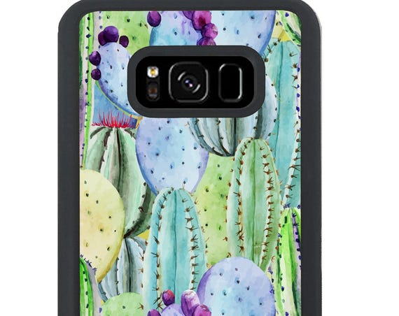 Watercolor Cactus Plant For Samsung Galaxy S9 Plus, S9, S8 Plus, S8, S7 Edge, S7, S6 Edge Plus, S6 Edge, S6, S5, S4, S3 Phone Case
