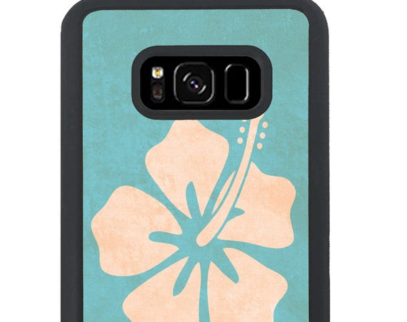 Ohana Family Hibiscus Design For Samsung Galaxy S9 Plus, S9, S8 Plus, S8, S7 Edge, S7, S6 Edge Plus, S6 Edge, S6, S5, S4, S3 Phone Case