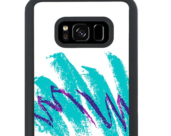 Retro 90s Solo Jazz Cup Pattern For Samsung Galaxy S9 Plus, S9, S8 Plus, S8, S7 Edge, S7, S6 Edge Plus, S6 Edge, S6, S5, S4, S3 Phone Case