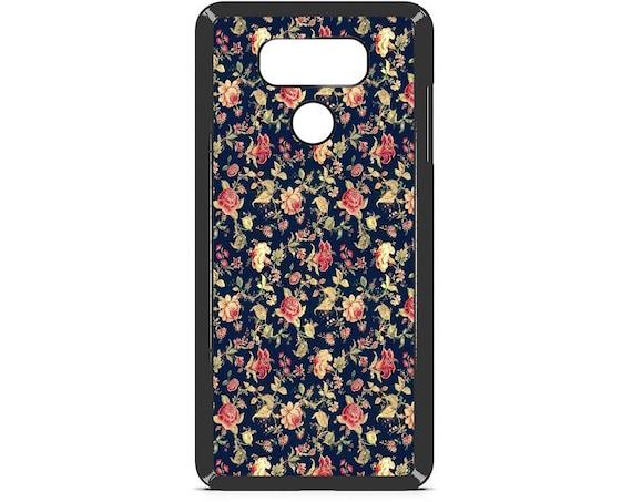 LG Case Vintage Floral Pattern LG G5 Case LG G6 Case Phone Case lg phone case g4 case g3 case Phone Cover cute phone case floral phone case