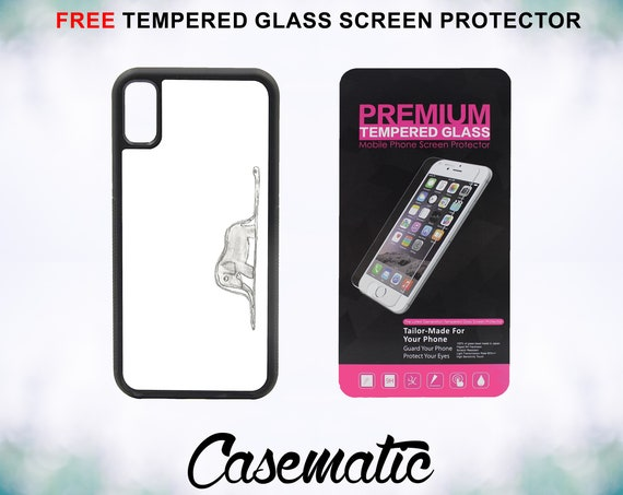 Cute Little Prince Elephant iPhone Case for iPhone XR XS Max X 8 Plus 8 7 Plus 7 6 Plus 6 6s SE 5S 5c 4 4s Tempered Glass Screen Protector