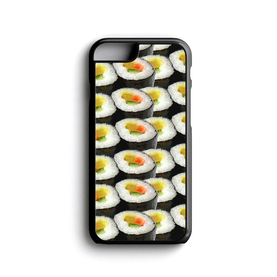 iPhone Case Sushi Hipster Lifestyle For iPhone 4, iPhone 5, iPhone 5c, iPhone 6, iPhone 6 Plus with FREE iPhone Tempered Glass Screen*