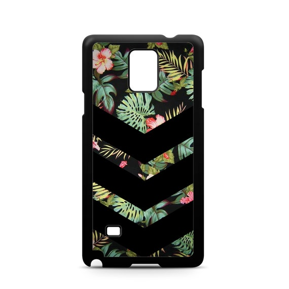 Tropical Chevron Floral Pattern for Samsung Galaxy Note 9, Note 8, Note 5, Note 4, Note 3 Phone Case Phone Cover