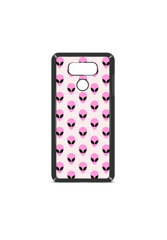 LG Case Pastel Alien Pattern LG G5 Case LG G6 Case Phone Case lg phone case g5 case g6 case Phone Cover tumblr phone case alien phone case