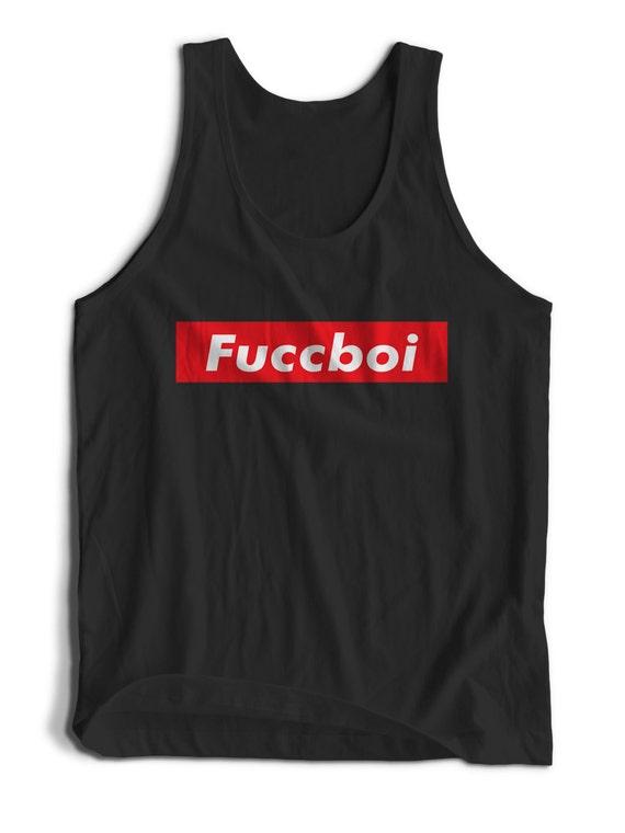 Cute Funny Fuccboi Slogan Tumblr Dem Boys for Men Women Teens Unisex Adult Apparel Tank Top Summer Clothing Great Gift Ideas
