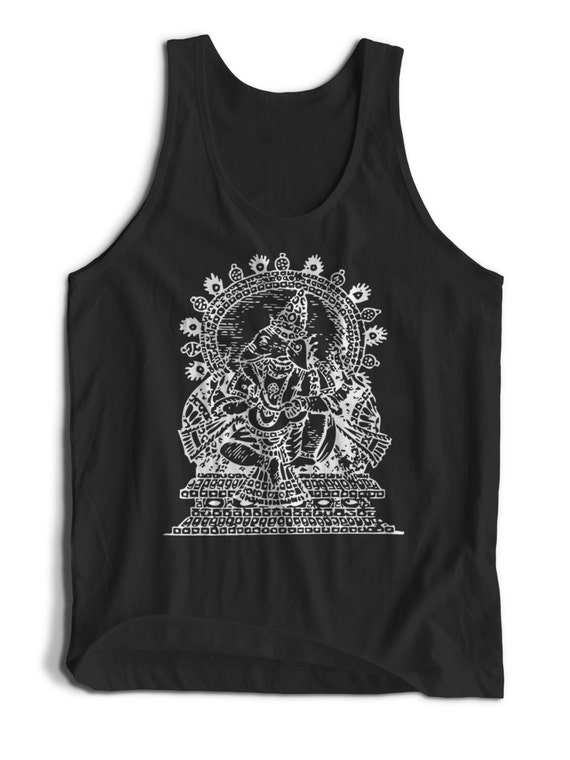 Ganesha Hindu Goddess for Men Women Teens Unisex Adult Apparel Tank Top Summer Clothing Great Gift Ideas Assorted Colors Tanks Colorful Tank