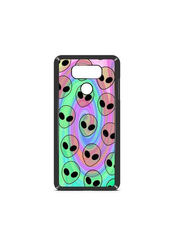 LG Case Psychedelic Alien Pattern LG G5 Case LG G6 Case Phone Case lg phone case g5 case g6 case Phone Cover alien phone case tumblr