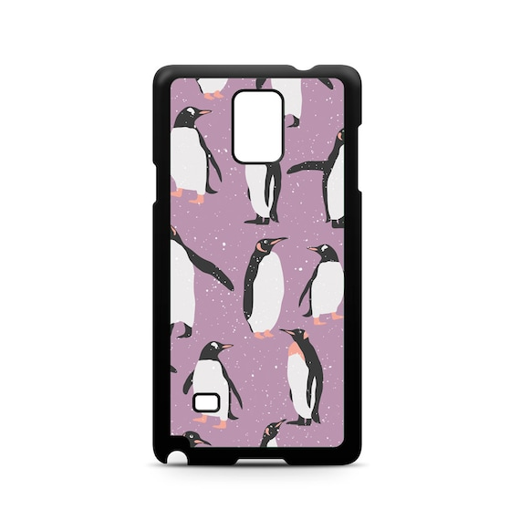 Cute Penguin Pattern for Samsung Galaxy Note 9, Note 8, Note 5, Note 4, Note 3 Phone Case Phone Cover