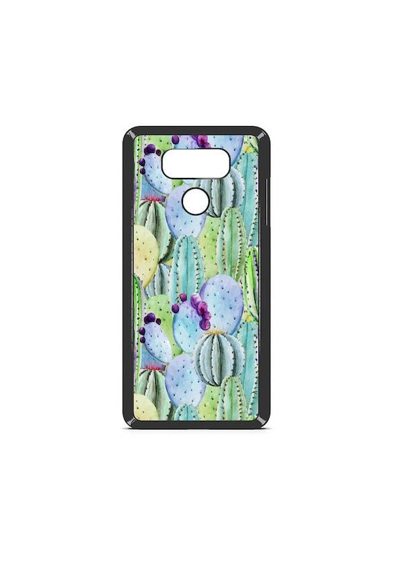 LG Case Watercolor Cactus LG G5 Case LG G6 Case Phone Case lg phone case g4 case g3 case Phone Cover cactus phone case floral phone case