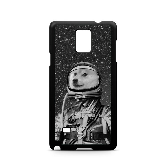 Astronaut Doge for Samsung Galaxy Note 9, Note 8, Note 5, Note 4, Note 3 Phone Case Phone Cover