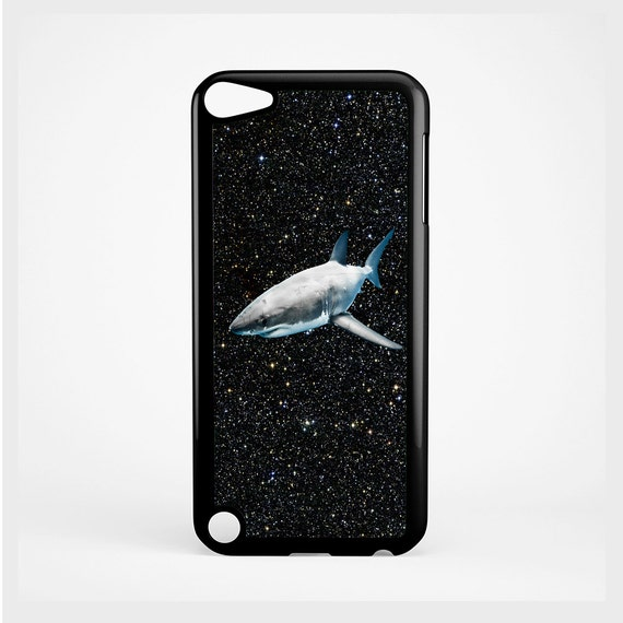 iPod Case Shark in Space For iPod 4th Generation, iPod 5th Generation, and iPod 6th Generation