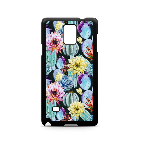 Summer Cactus Painting for Samsung Galaxy Note 9, Note 8, Note 5, Note 4, Note 3 Phone Case Phone Cover