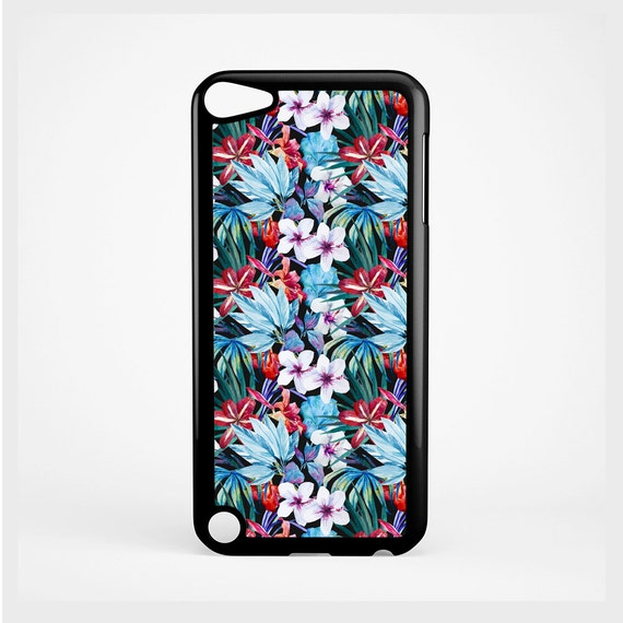 iPod Case Hibiscus Tropical Flower For iPod 4th Generation, iPod 5th Generation, and iPod 6th Generation