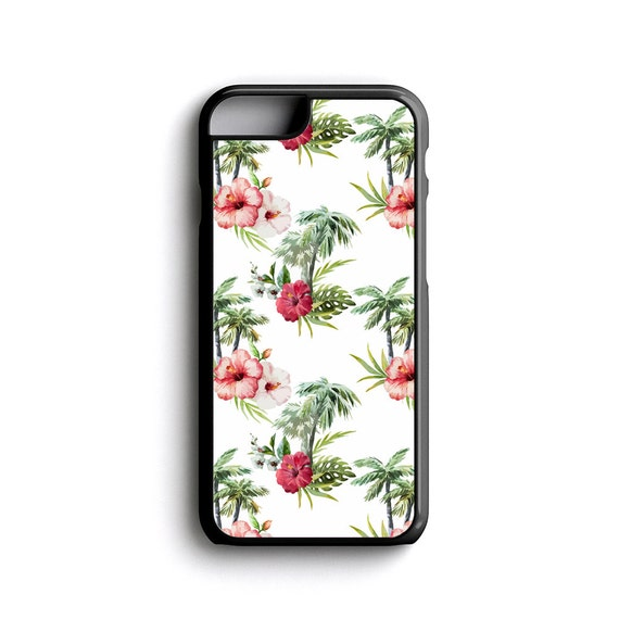 iPhone Case Summer Floral Pattern For iPhone 4, iPhone 5, iPhone 5c, iPhone 6, iPhone 6 Plus with FREE iPhone Tempered Glass Screen PRO*