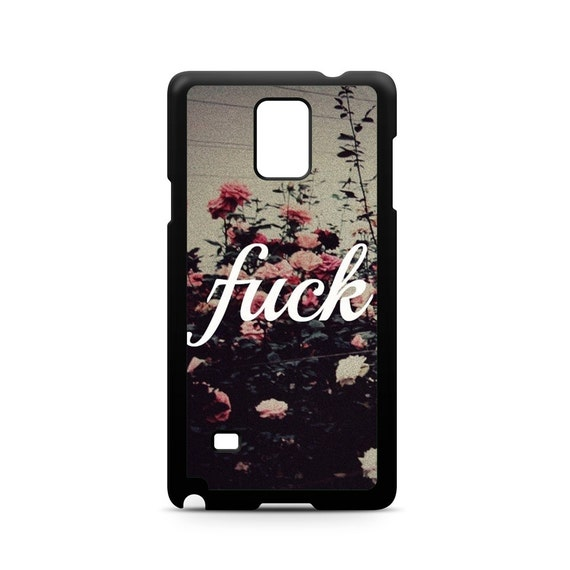Mature Floral Hipster Quote for Samsung Galaxy Note 9, Note 8, Note 5, Note 4, Note 3 Phone Case Phone Cover Wild Roses Too Hot to See