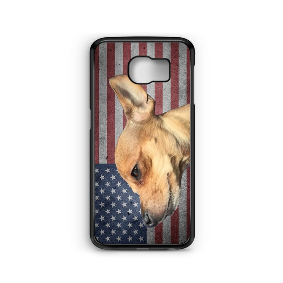 American Patriotic Chihuahua Dog For Samsung Galaxy S9 Plus, S9, S8 Plus, S8, S7 Edge, S7, S6 Edge Plus, S6 Edge, S6, S5, S4, S3 Phone Case