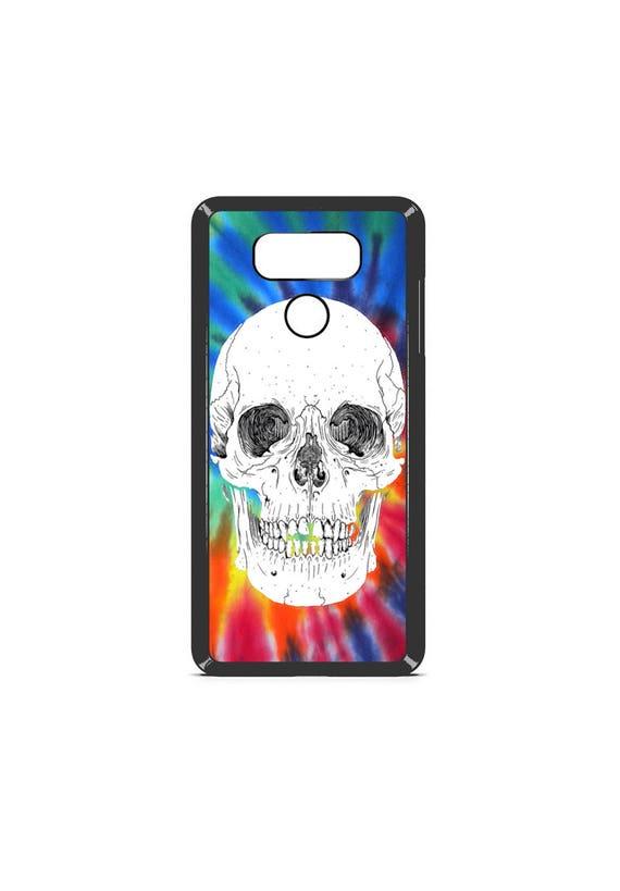 LG Case Tie Dye Skull LG G5 Case LG G6 Case Phone Case lg phone case g5 case g6 case Phone Cover skull phone case tie dye phone case