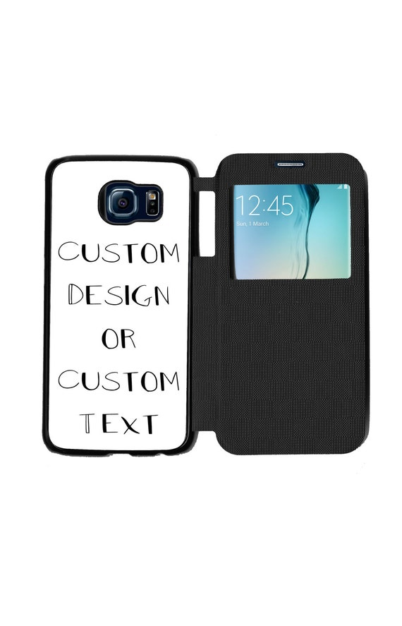 Create Your Very Own Unique Trendy Flip Phone Case for Samsung GalaxyS6, S6 EDGE, S7 and S7 EDGE Flip Case Great Mothers Day Gift Idea