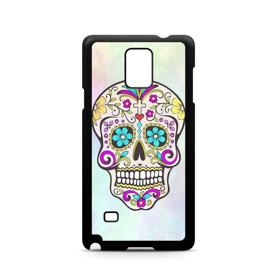 Dia De Los Muertos Sugar Skull Pattern for Samsung Galaxy Note 9, Note 8, Note 5, Note 4, Note 3 Phone Case Phone Cover