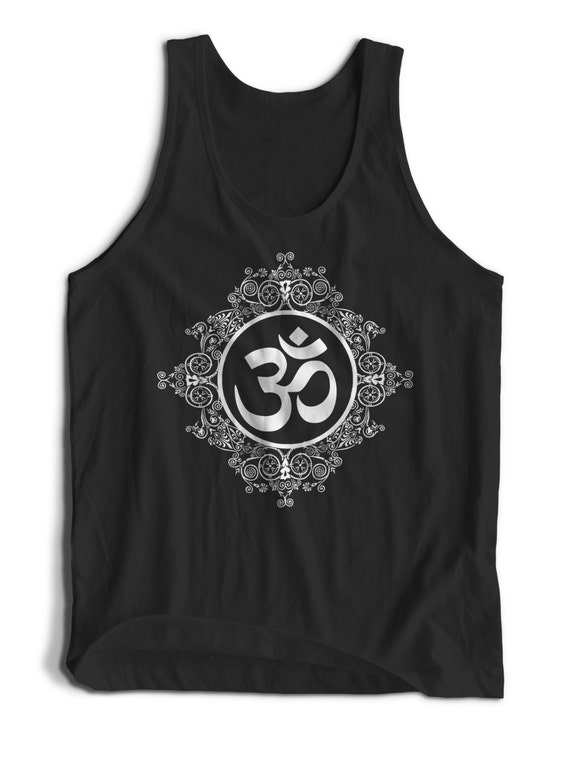 Om Symbol Namaste Buddha For Men Women Teens Unisex Adult Apparel Tank Top Summer Clothing Assorted Colors Tanks Colorful Tank Tops