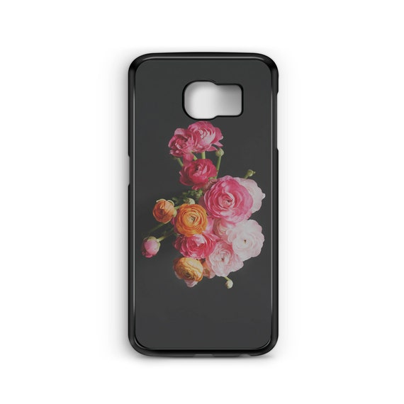 Minimal Grunge Floral Flowers For Samsung Galaxy S9 Plus, S9, S8 Plus, S8, S7 Edge, S7, S6 Edge Plus, S6 Edge, S6, S5, S4, S3 Phone Case