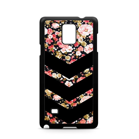 Chevron  Beautiful Rose Floral Pattern for Samsung Galaxy Note 9, Note 8, Note 5, Note 4, Note 3 Phone Case Phone Cover