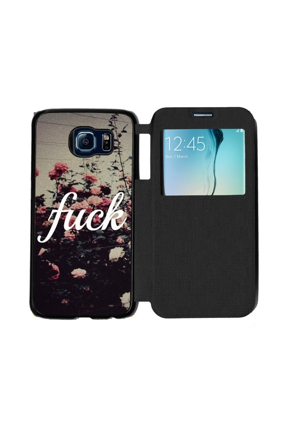 Unique Trendy Mature Hipster Quote for Samsung GalaxyS6, S6 EDGE, S7 and S7 EDGE Flip Case