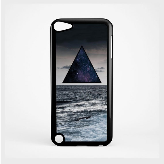 iPod Case Hipster Triangle Ocean For iPod 4th Generation, iPod 5th Generation, and iPod 6th Generation